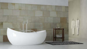 A wet room can be so luxurious. Like this wet room in Livingston